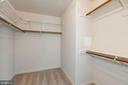 Master Bed Walk in Closet  loads of storage space - 2200 JOURNET DR, DUNN LORING