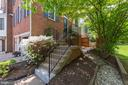 side entry and pathway to rear patio - 2200 JOURNET DR, DUNN LORING
