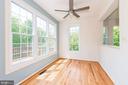 New  ceiling fan,  Bright Sunlight streams in - 2200 JOURNET DR, DUNN LORING