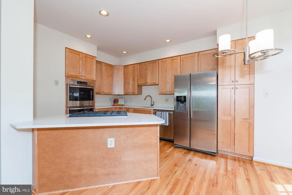 Newly updated kitchen , New cabinets  New counters - 2200 JOURNET DR, DUNN LORING