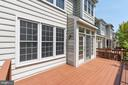 Transome  windows  recently resurfaced deck - 2200 JOURNET DR, DUNN LORING