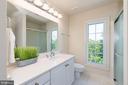 Hall Bath New Corian counter New shower doors - 2200 JOURNET DR, DUNN LORING