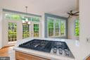 New  Kitchen Aid gas  cooktop , Large windows - 2200 JOURNET DR, DUNN LORING