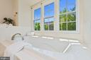 Master Bath  Large Luxurios Soaking Tub - 2200 JOURNET DR, DUNN LORING