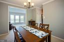 Opens to dining room and access to kitchen - 8145 MORNING BREEZE DR, ELKRIDGE