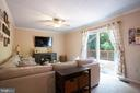 Family room with access to deck - 8145 MORNING BREEZE DR, ELKRIDGE