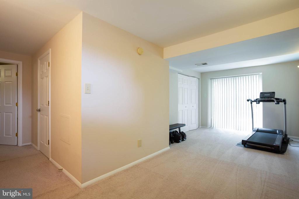 Finished basement with walkout to backyard - 8145 MORNING BREEZE DR, ELKRIDGE