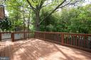 Large deck with ramp to backyard - 8145 MORNING BREEZE DR, ELKRIDGE