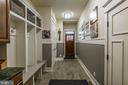 Mudroom - plenty of room to drop everything here! - 1207 ROSS DR SW, VIENNA