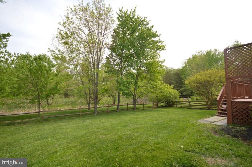 Backyard backs to Trees/Woods - 3 WORTHINGTON CT, STERLING