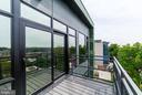 Living Room Balcony - 1468 BELMONT ST NW #4E, WASHINGTON