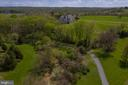 A view from above of trail and community - 17160 SPRING CREEK LN, LEESBURG
