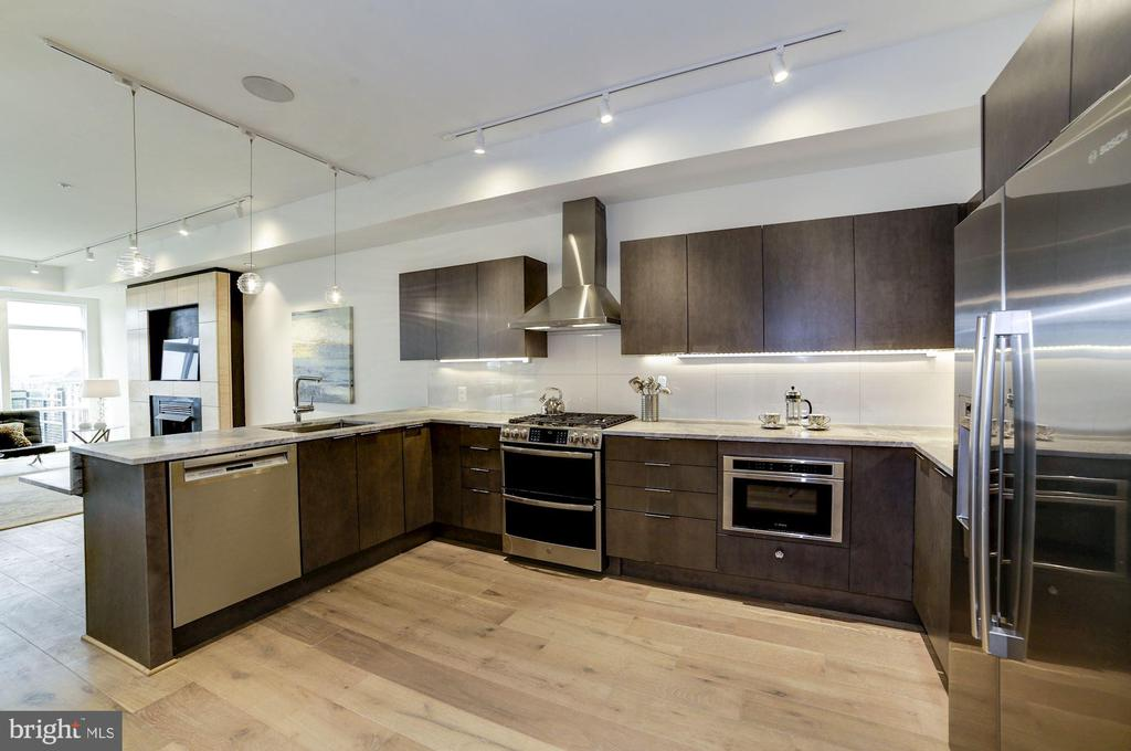 Gourmet Kitchen - 1468 BELMONT ST NW #4E, WASHINGTON