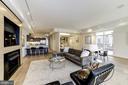 Living/Dining Room - 1468 BELMONT ST NW #4E, WASHINGTON