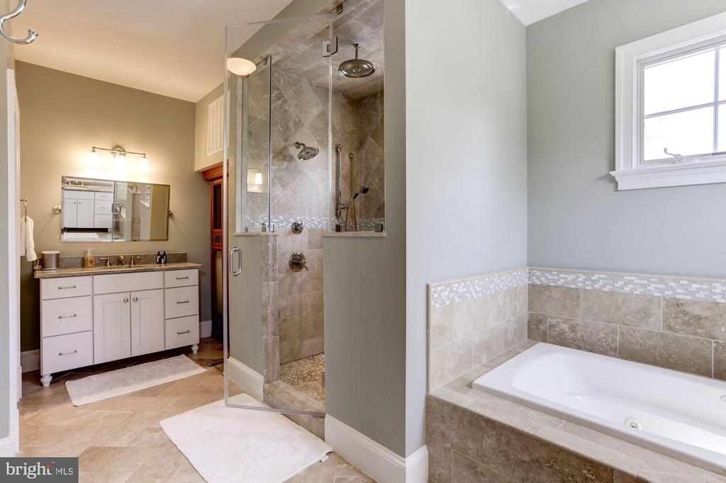 Steam shower with 2 handhelds & rainshower - 405 N HIGHLAND ST, ARLINGTON