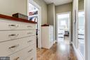 Custom built-in dressers & walk-in closet - 405 N HIGHLAND ST, ARLINGTON