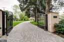 Gated Entry & Winding Paver Stone Driveway - 833 LONDONTOWN RD, EDGEWATER