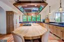 Custom Copper Ventilation & Butcher Block Island - 833 LONDONTOWN RD, EDGEWATER