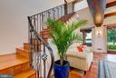 Custom Wrought Iron Elements like this Stair Rail - 833 LONDONTOWN RD, EDGEWATER