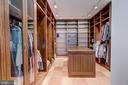Huge Custom Walk In Closet w/Dressing Island - 833 LONDONTOWN RD, EDGEWATER