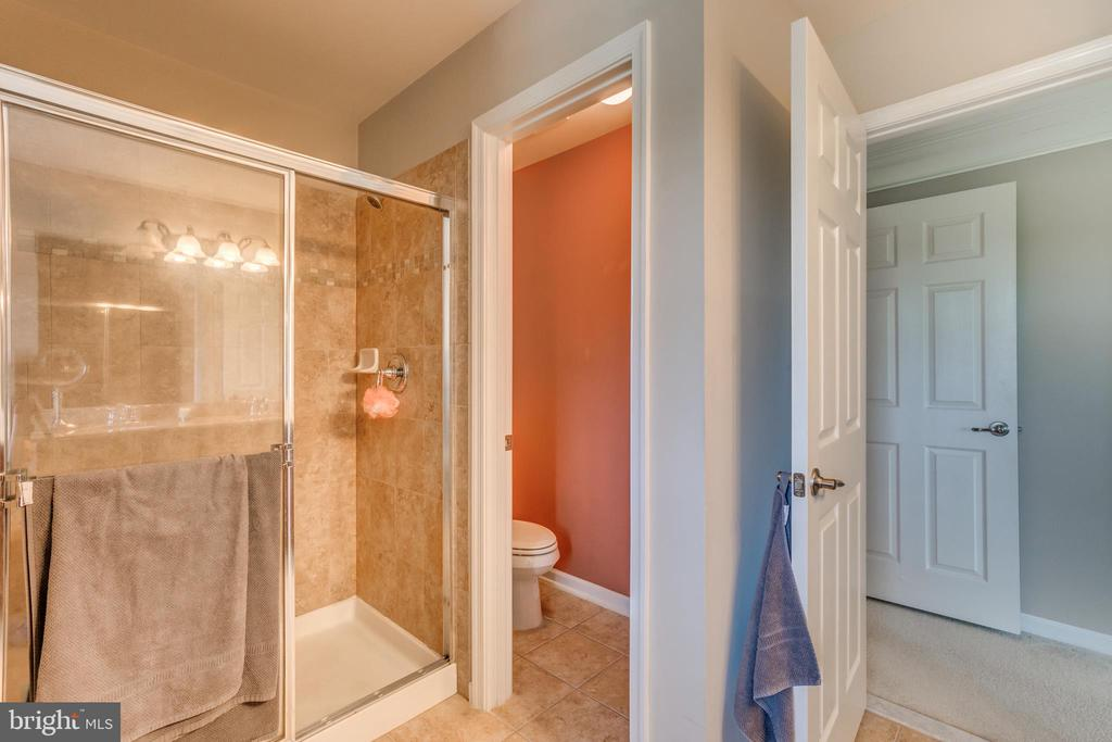 Separate Toilet Room in Master - 5723 WOODBINE CT, FREDERICKSBURG