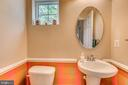 Downstairs Powder Room - 5723 WOODBINE CT, FREDERICKSBURG