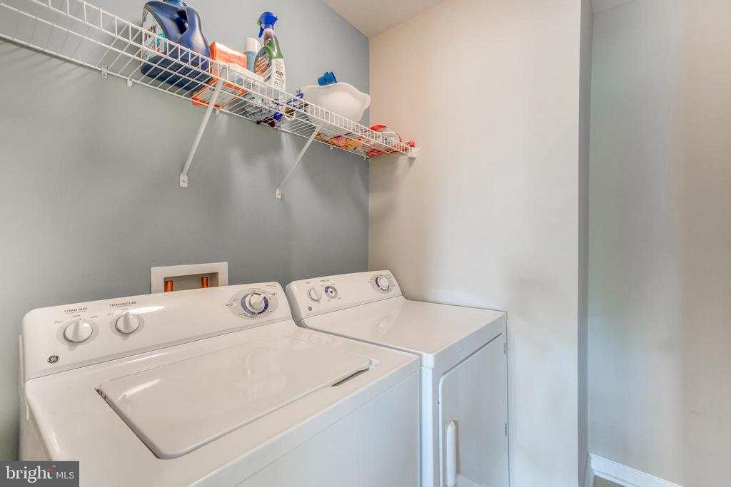 Convenient Upper Level Laundry Room - 5723 WOODBINE CT, FREDERICKSBURG