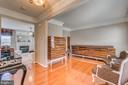 Gleaming Wood Floors and Crown Molding - 5723 WOODBINE CT, FREDERICKSBURG