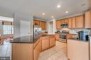 Large Kitchen Island - 5723 WOODBINE CT, FREDERICKSBURG