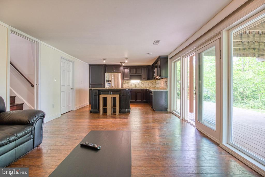 Lower lvl Kitchenette Family RM& Washer & Dryer - 6800 CAPSTAN DR, ANNANDALE