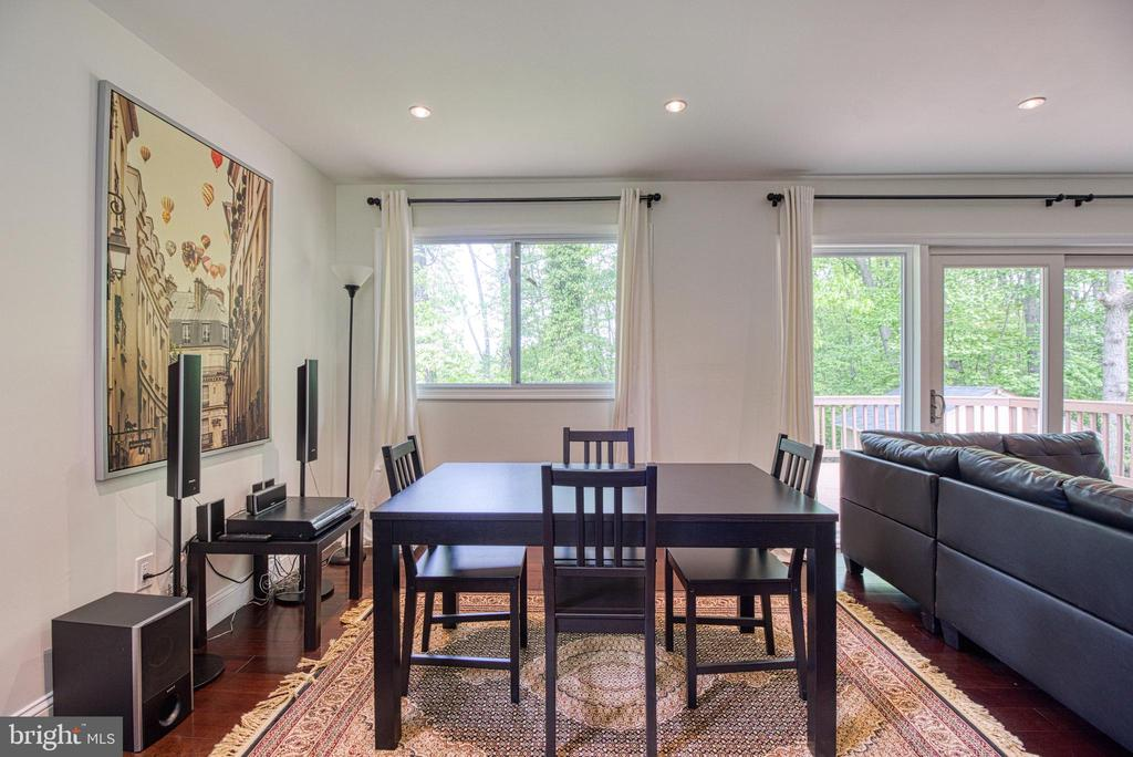 Dining Area - 6800 CAPSTAN DR, ANNANDALE