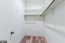 Second Master Walk-in Closet - 4408 OLLEY LN, FAIRFAX