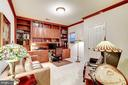 5th Bedroom used as office - custom built-ins - 4036 24TH RD N, ARLINGTON