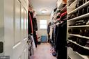 Master closet - walk-in - 4036 24TH RD N, ARLINGTON