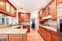 Solid cherry cabinets - 4036 24TH RD N, ARLINGTON