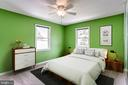 Bedroom - Virtually Staged - 6106 SEBRING DR, COLUMBIA