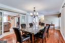 Separate Dining Room - 6106 SEBRING DR, COLUMBIA