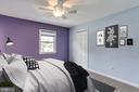 En Suite Bedroom - Virtually Staged - 6106 SEBRING DR, COLUMBIA