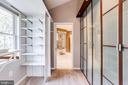 Owner's Walk-in Closet with Built-ins - 6106 SEBRING DR, COLUMBIA