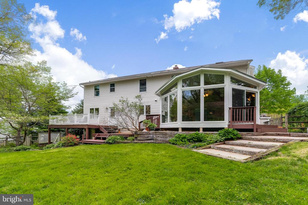 Tiered Deck & Multiple Patios - 6106 SEBRING DR, COLUMBIA