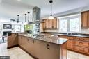 Upgraded Kitchen with Stainless Steel Appliances - 6106 SEBRING DR, COLUMBIA