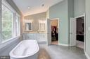 Master Bathroom - 13615 YELLOW POPLAR DR, CENTREVILLE