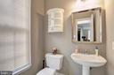 Powder Room - 13615 YELLOW POPLAR DR, CENTREVILLE