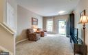 Family Room View from Laundry Room - 2582 LOGAN WOOD DR, HERNDON