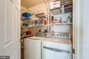 Laundry Room with Lots of Storage Space - 2582 LOGAN WOOD DR, HERNDON