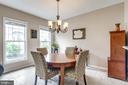 Wonderful Open Dining Room - 2582 LOGAN WOOD DR, HERNDON