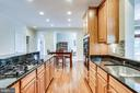 Granite countertops - 25647 S VILLAGE DR, CHANTILLY