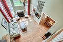 Overlooking family room - 25647 S VILLAGE DR, CHANTILLY