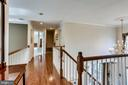 Upper level  hallway - 25647 S VILLAGE DR, CHANTILLY
