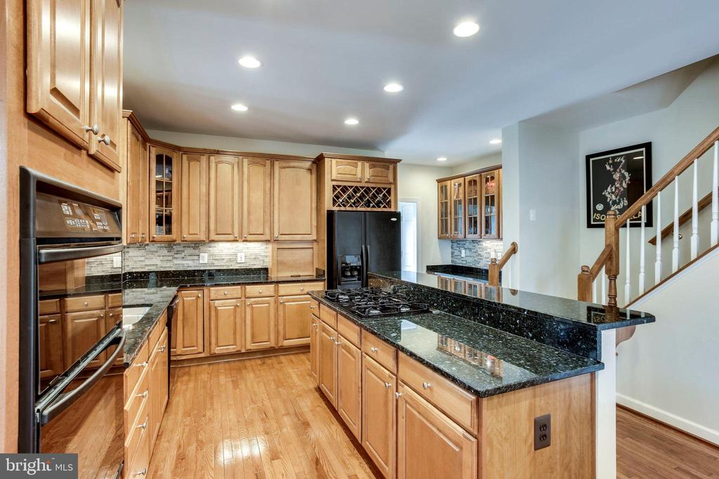 Gourmet kitchen - 25647 S VILLAGE DR, CHANTILLY